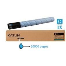 MINOLTA Toner Cyan pour Bizhub C258/C308 KATUN  (KAT-TN324C)