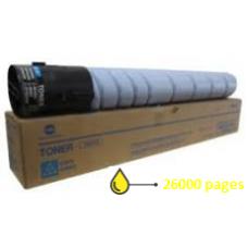 MINOLTA / DEVELOP Toner Yellow pour Bizhub C224/C224E Original (TN321Y)