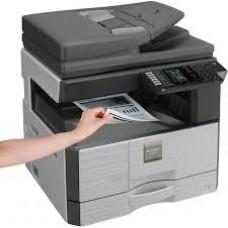 SHARP AR-6023NV (Copieur 23ppm/ Imprimante Réseau/ Scanner couleur) avec cache vitre
